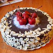 Для дома и интерьера ручной работы. Ярмарка Мастеров - ручная работа Муляж торта. Handmade.