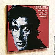 Картины и панно handmade. Livemaster - original item Painting poster Pop Art al Pacino. Handmade.