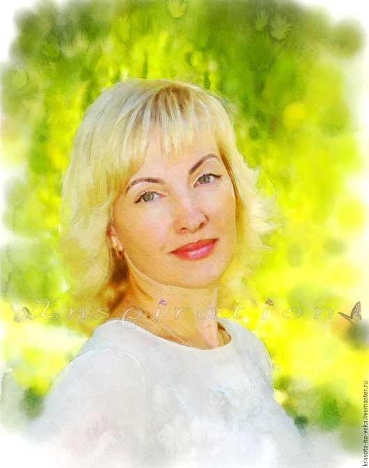 Портрет по фото (Дарья).