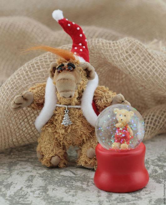 Мишка в шаре для декора.