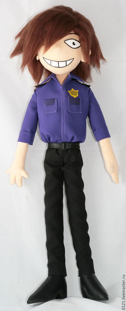 Человечки ручной работы. Ярмарка Мастеров - ручная работа. Купить Фиолетовый парень игрушка по рисунку. Handmade. Разноцветный, игрушка на заказ