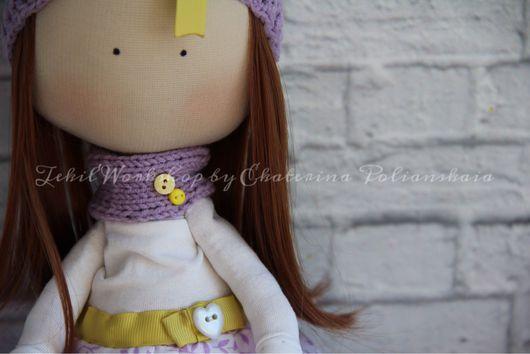 Куклы Тильды ручной работы. Ярмарка Мастеров - ручная работа. Купить Интерьерная текстильная кукла. Handmade. Интерьерная кукла