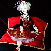 Куклы и игрушки ручной работы. Ярмарка Мастеров - ручная работа Вишня в белом шоколаде. Handmade.