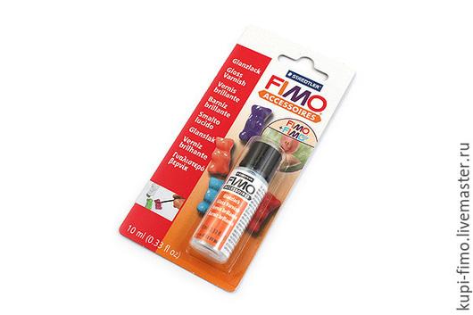 Для украшений ручной работы. Ярмарка Мастеров - ручная работа. Купить Fimo глянцевый лак на водной основе маленький 10 мл. Handmade.