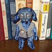 Куклы и игрушки ручной работы. Ярмарка Мастеров - ручная работа Тедди-долл, заяц в смешанной технике, ручная работа.. Handmade.