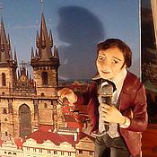 """Куклы и игрушки ручной работы. Ярмарка Мастеров - ручная работа Портретная кукла """"Золотой голос Праги"""". Handmade."""