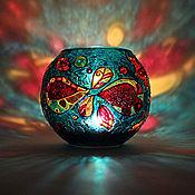 Для дома и интерьера handmade. Livemaster - original item Infinity Glass Candle Holder. Handmade.