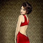 """Одежда ручной работы. Ярмарка Мастеров - ручная работа """"Идеальное красное платье"""". Handmade."""