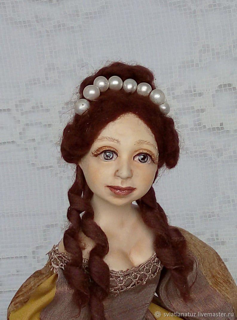 Будуарная кукла Эльза, Будуарная кукла, Калинковичи,  Фото №1