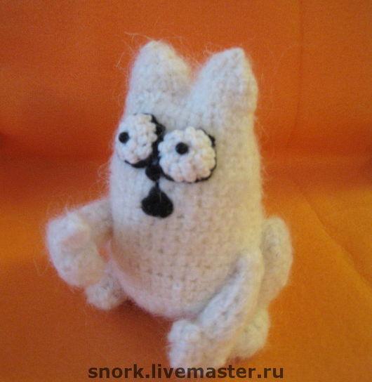 Игрушки животные, ручной работы. Ярмарка Мастеров - ручная работа. Купить Хью (Кот Саймона) Simon's cat. Handmade.