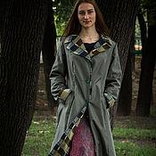 Одежда ручной работы. Ярмарка Мастеров - ручная работа Плащ Английский парк. Handmade.