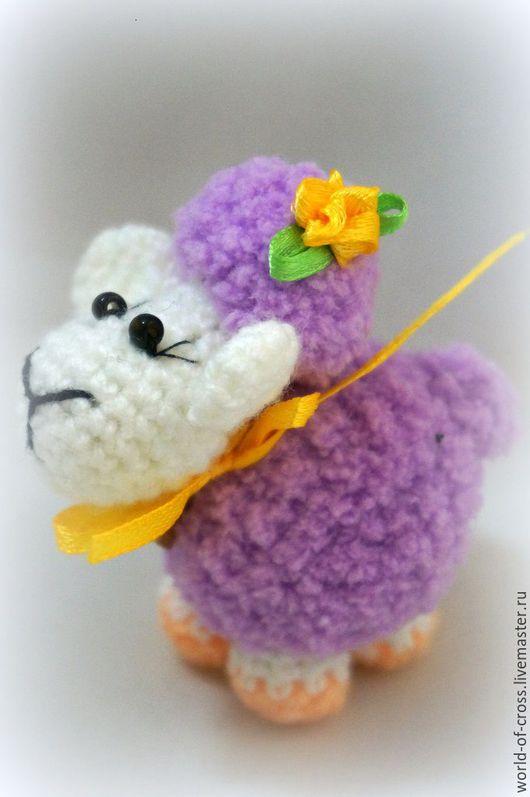 Игрушки животные, ручной работы. Ярмарка Мастеров - ручная работа. Купить Овечка. Handmade. Комбинированный, овечка в подарок, барашек, овцы