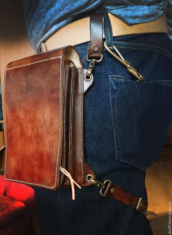 Кожаная сумка планшет мужская своими руками
