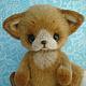 Мишки Тедди ручной работы. Ярмарка Мастеров - ручная работа. Купить Тедди лисенок Вук.. Handmade. Рыжий, лиса в лесу
