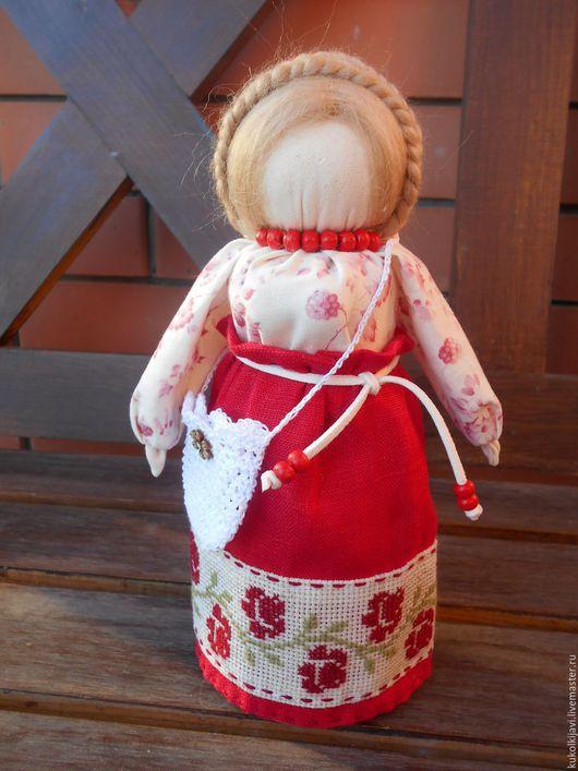 """Народные куклы ручной работы. Ярмарка Мастеров - ручная работа. Купить """"Успешница"""" или """"Богатея"""" Кукла- оберег.. Handmade."""