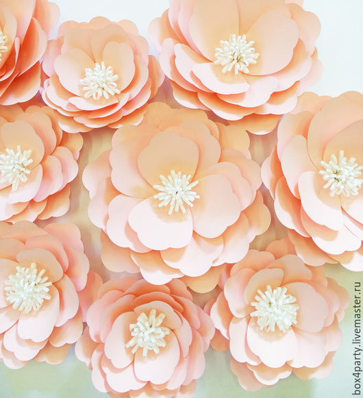 Свадебные аксессуары ручной работы. Ярмарка Мастеров - ручная работа. Купить Цветок из бумаги. Handmade. Белый, оформление, украшения