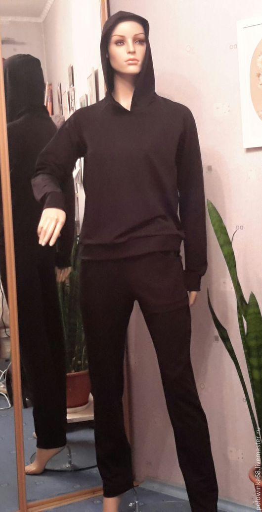 Спортивная одежда ручной работы. Ярмарка Мастеров - ручная работа. Купить спортивный костюм. Handmade. Черный, спортивная одежда