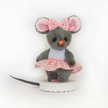 Куклы и игрушки ручной работы. Ярмарка Мастеров - ручная работа Мышка норушка. Handmade.