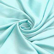 Ткани ручной работы. Ярмарка Мастеров - ручная работа ткань шелк иск. бирюза   со стрейчем. Handmade.