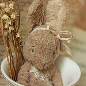 Куклы и игрушки ручной работы. Ярмарка Мастеров - ручная работа Зайка тедди-примитивчик. Handmade.