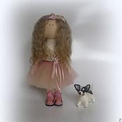 Куклы и игрушки handmade. Livemaster - original item Doll, Textile, Interior Copyright.. Handmade.