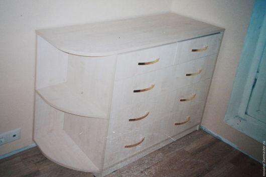 Мебель ручной работы. Ярмарка Мастеров - ручная работа. Купить 2004год камод+купе. Handmade. Бежевый, дсп