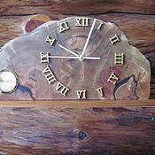 Для дома и интерьера ручной работы. Ярмарка Мастеров - ручная работа Часы каминные с гигрометром. Handmade.