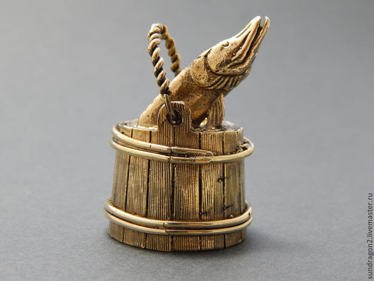 """Колокольчики ручной работы. Ярмарка Мастеров - ручная работа. Купить колокольчик  """"По щучьему велению"""" бронза ручной работы. Handmade."""
