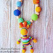 Одежда ручной работы. Ярмарка Мастеров - ручная работа Слингобусы можжевеловые с жирафом. Handmade.