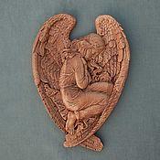 Картины и панно handmade. Livemaster - original item girl-angel. Handmade.