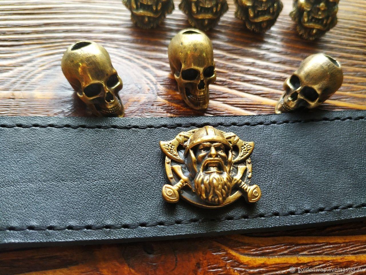 Кончо из латуни на винте викинг, Фурнитура для сумок, Таганрог,  Фото №1