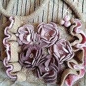 Сумки и аксессуары ручной работы. Ярмарка Мастеров - ручная работа Romantic rose валяная сумочка. Handmade.