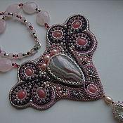 """Украшения ручной работы. Ярмарка Мастеров - ручная работа Колъе """"Pink dreams"""". Handmade."""