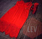 Одежда handmade. Livemaster - original item Slip dress made of silk YULIYA LEV. Handmade.