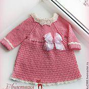 """Работы для детей, ручной работы. Ярмарка Мастеров - ручная работа Платье для девочки """"Куколка"""". Handmade."""