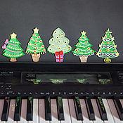 Подарки к праздникам handmade. Livemaster - original item Tree. A set of Christmas ornaments.. Handmade.