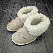 Обувь ручной работы handmade. Livemaster - original item home ugg boots. Handmade.