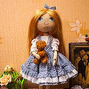 Куклы и игрушки ручной работы. Ярмарка Мастеров - ручная работа Текстильная кукла Римма.. Handmade.