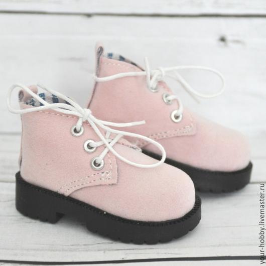 Куклы и игрушки ручной работы. Ярмарка Мастеров - ручная работа. Купить Ботиночки 7,2см. Обувь для кукол. Handmade.