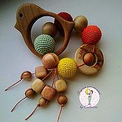 Куклы и игрушки handmade. Livemaster - original item Juniper teething toy