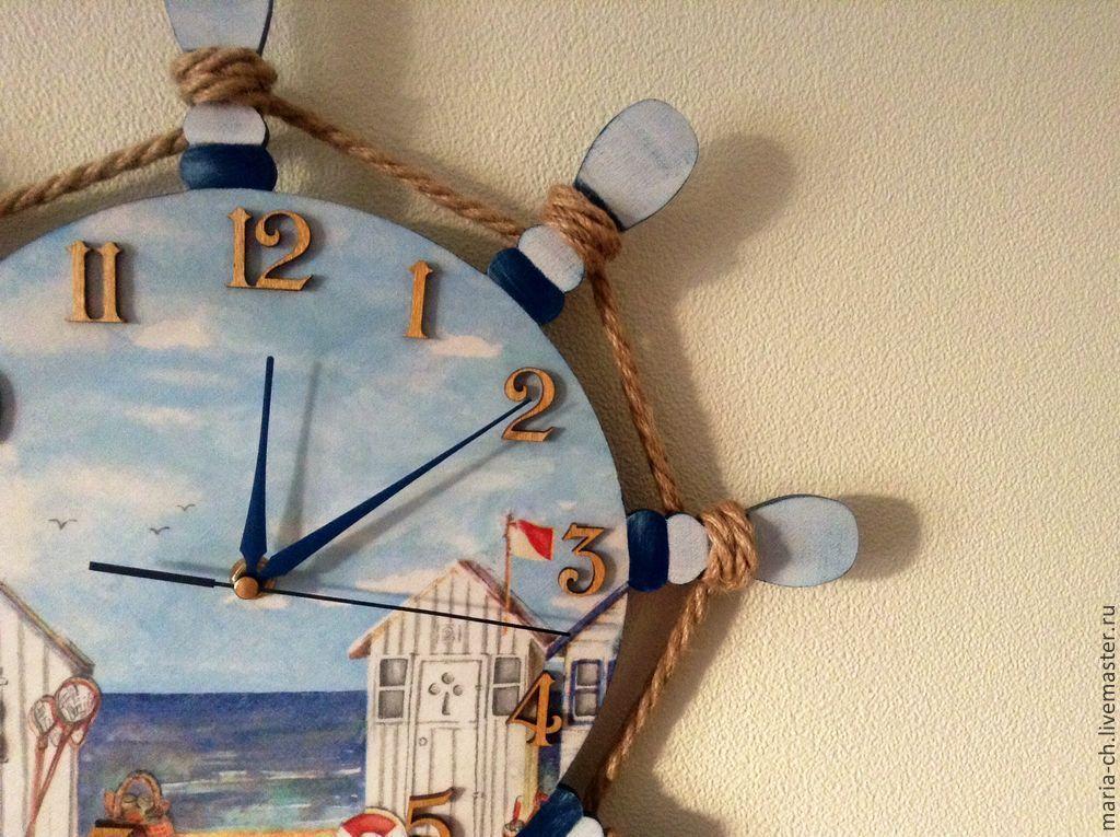 Купить настенные часы морской тематики