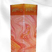 """Для дома и интерьера ручной работы. Ярмарка Мастеров - ручная работа Ваза-светильник """" Огненная саламандра"""". Handmade."""