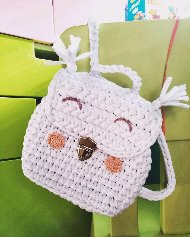 Вязание крючком рюкзак 2