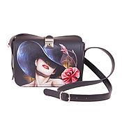 Сумки и аксессуары handmade. Livemaster - original item Women`s bag-satchel