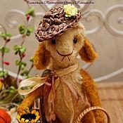 Куклы и игрушки ручной работы. Ярмарка Мастеров - ручная работа Барашек- тедди  Бориска. Handmade.