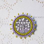 Украшения handmade. Livemaster - original item Spring pin with tree. Handmade.