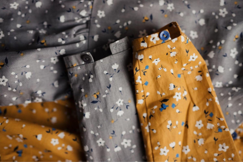 Платье рубашка Серое и Горчица