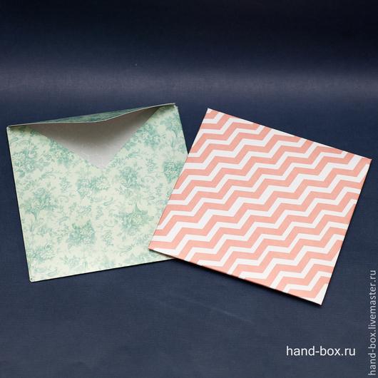 Подарочная упаковка ручной работы. Ярмарка Мастеров - ручная работа. Купить Бюджетные конверты для дисков. Handmade. Разноцветный, коробочка для диска