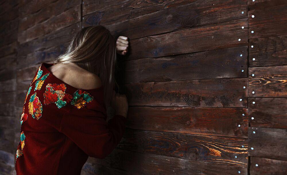 Бордовый свитшот, Свитеры, Мурманск, Фото №1
