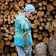 Пиджаки, жакеты ручной работы. Валяный Жакет Небо над полем. AneleStudio. Ярмарка Мастеров. Маковое поле, нежность, волокна